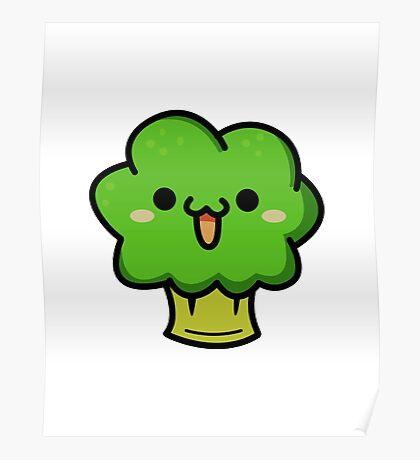 Cute broccoli Poster