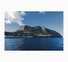 Capri Island From the Sea Kids Tee