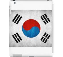Korean flag iPad Case/Skin