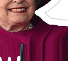 Queen Elizabeth Pimpin Sticker