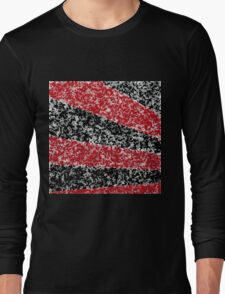Rays Abstract Long Sleeve T-Shirt