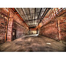Factory collapse Photographic Print