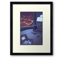 547 Days Framed Print