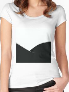 Simple View Women's Fitted Scoop T-Shirt