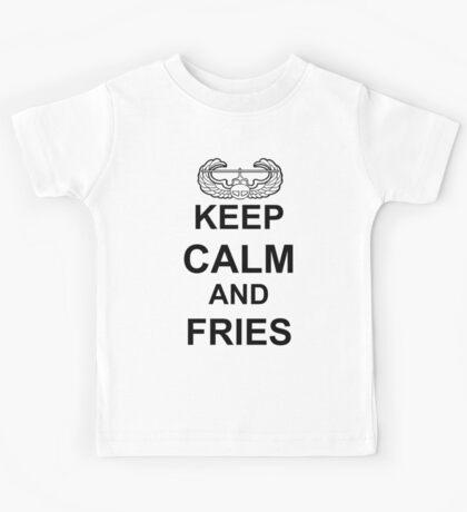 Keep Calm and FRIES - Air Assault Kids Tee