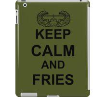Keep Calm and FRIES - Air Assault iPad Case/Skin
