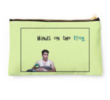 Hands on the frog. Studio Pouch