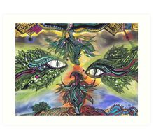 Dragon Eyes Art Print