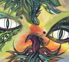 Dragon Eyes Sticker