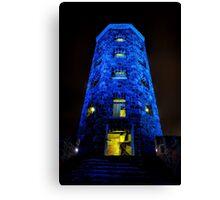 Blue Enger Tower Canvas Print