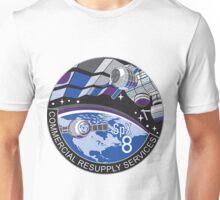 CRS-8 NASA Logo Unisex T-Shirt