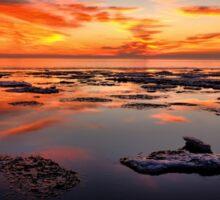 Calm Lake Superior Morning Sticker