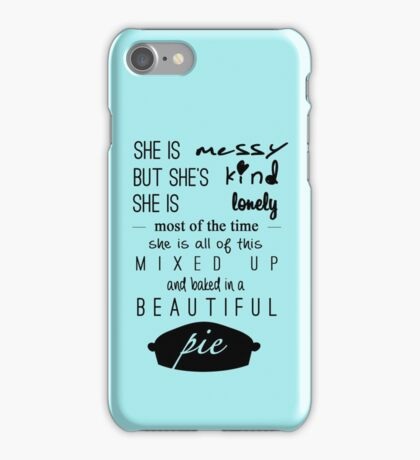 she used to be mine iPhone Case/Skin