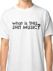 Dumb Stupid Music Party T-Shirts Classic T-Shirt