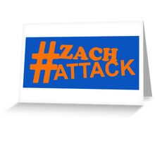 Zach Attack (color) Greeting Card