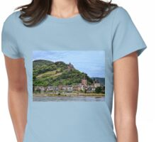 Exploring Germany's Rhine River Valley Womens Fitted T-Shirt