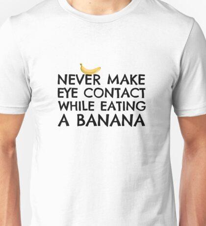 Banana Joke Funny Sex Humour Dick Joke Man Woman Fruit Unisex T-Shirt
