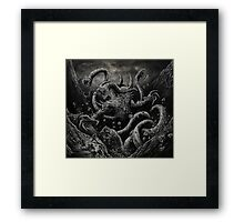 Beast Hunt Framed Print