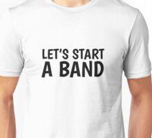 Band Music Song Rock Guitar Drums Bass Musician  Unisex T-Shirt