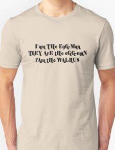 John Lennon Beatles Lyrics Unisex T-Shirt