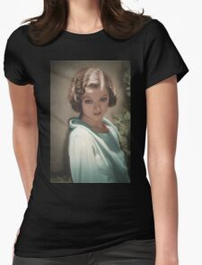 Myrna Loy 1932 Womens Fitted T-Shirt