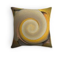 Metal Bloom Two Throw Pillow