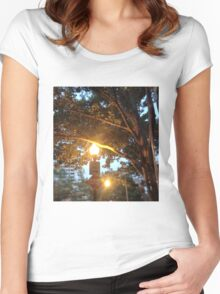 The Light Will Guide You Home Women's Fitted Scoop T-Shirt