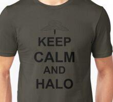Keep Calm and HALO - Freefall Unisex T-Shirt