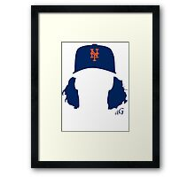 Jacob deGrom Framed Print