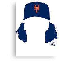 Jacob deGrom Canvas Print