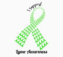 Support Lyme Awareness! (Black Text) Unisex T-Shirt