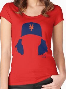 Jacob deGrom Women's Fitted Scoop T-Shirt