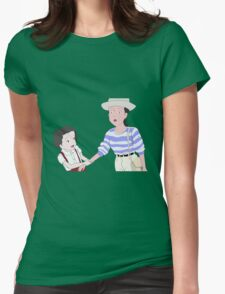 I saw him Only Yesterday Womens Fitted T-Shirt