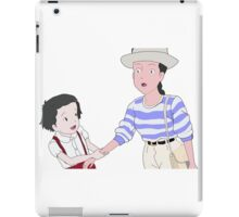 I saw him Only Yesterday iPad Case/Skin