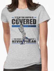 Kevin Pillar Womens Fitted T-Shirt