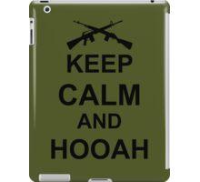 Keep Calm and Hooah - Army iPad Case/Skin