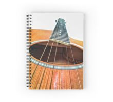 The Guitar - CaMERA11 Spiral Notebook