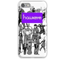 hawky iPhone Case/Skin