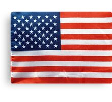American Flag RED WHITE & BLUE Canvas Print