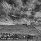 Exploding Clouds Over Wakatipu. by Larry Lingard-Davis