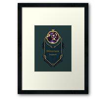 League of Legends - Blitzcrank Banner Framed Print