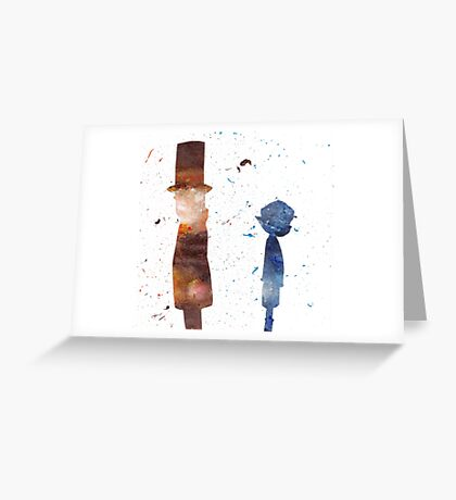 Room For Thought- a Professor Layton Tribute Greeting Card