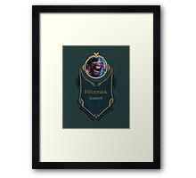 League of Legends - Blitzcrank Banner (Riot) Framed Print