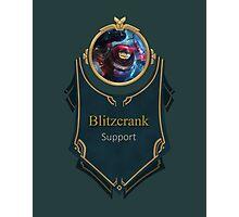 League of Legends - Blitzcrank Banner (Riot) Photographic Print