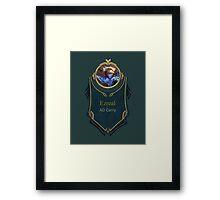 League of Legends - Ezreal Banner Framed Print