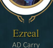 League of Legends - Ezreal Banner Sticker