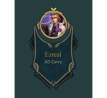 League of Legends - Ezreal Banner (Debonair) Photographic Print