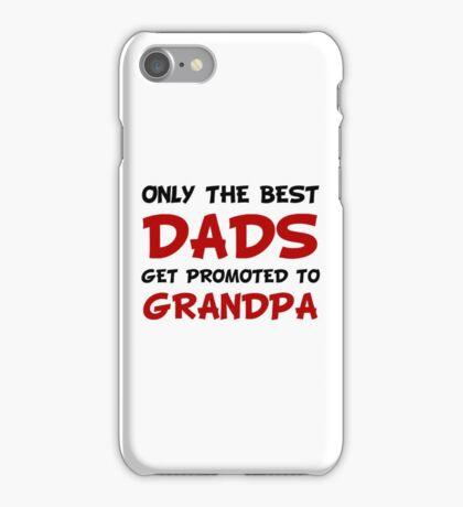 Promoted Grandpa iPhone Case/Skin