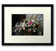 Uplifting Bouquet of Flowers  Framed Print