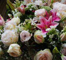 Uplifting Bouquet of Flowers  Sticker